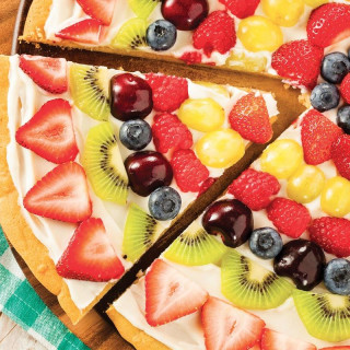 Mixed Berry Pizza