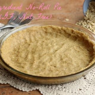 No-Roll Pie Crust (Gluten-Free, Nut-Free)