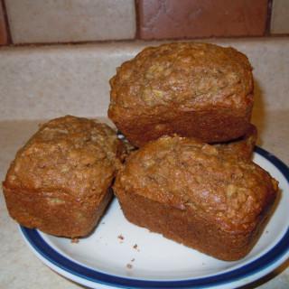 Rhubarb Oatmeal Muffins