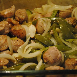 Sausage, Peppers, And Onions Italia