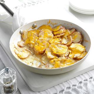 Skillet Scalloped Potatoes