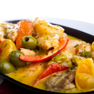 Spanish Chicken with Olives
