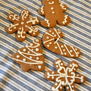 Spicy Gingerbread  Cookies