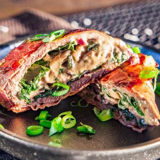 Stuffed Beef Roll