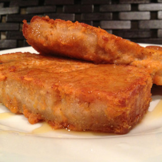 Sweet Potato French Toast With Coconut Quickbread