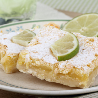 Tequila-Lime-Coconut Macaroon Bars