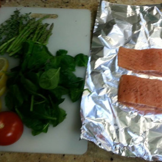 Tin Foil Fish bake