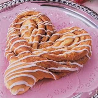 Heart-Shaped Coffee Cake