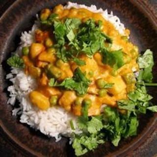 Vegetarian Korma (ketoized)