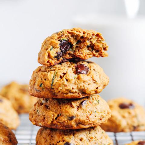 1 Bowl Oatmeal Zucchini Cookies