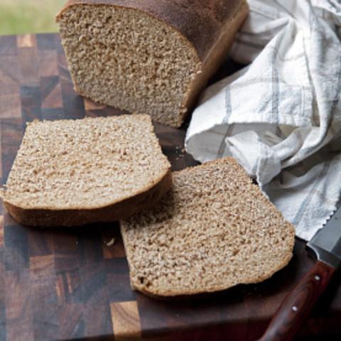 100% Whole Wheat Bread (Bread Machine)