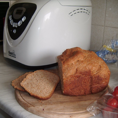 100% Whole Wheat Bread for Bread Machine. Servings: 8; Ready In 1 hour