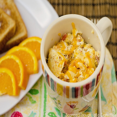 2 Minute Omlet in a Mug