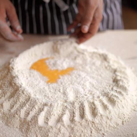 A basic recipe for fresh egg pasta