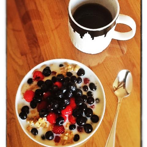 A Crisp and Fruity Breakfast