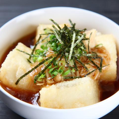 Agedashidofu (Japanese Deep-Fried Tofu) 揚げ出し豆腐