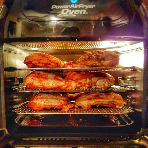Airfryer Oven Rotisserie Chicken Quarters