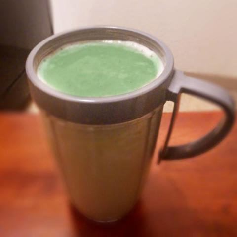Alkaline, Nutty, Minty, Green Health Shake