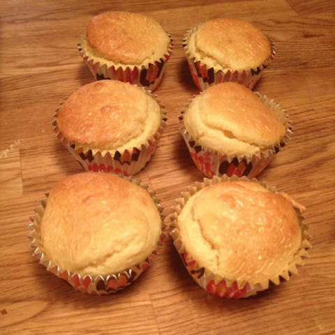 Low Carb Almond Muffins