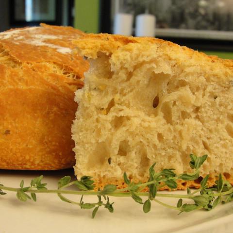 Almost No-Knead Bread