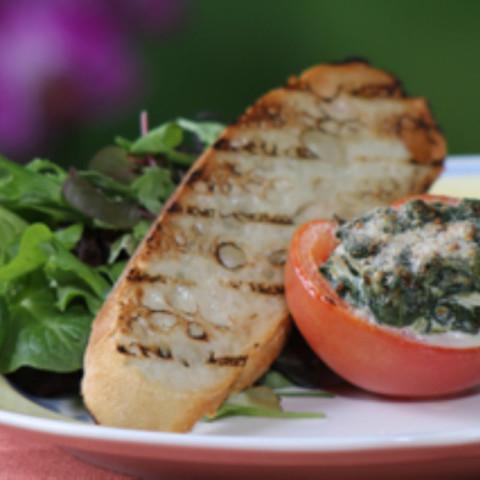 Alouette Light Garlic & Herbs Stuffed Tomatoes