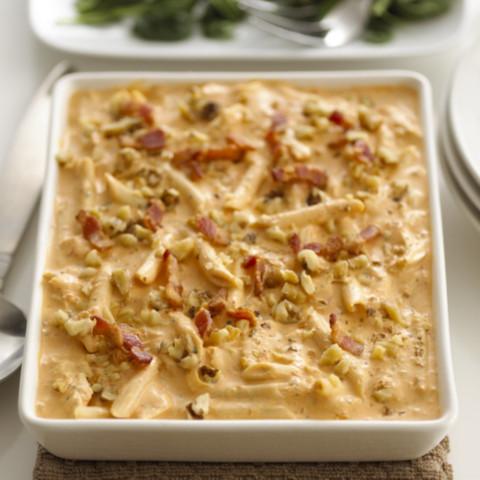 Alouette Pancetta and Chicken Penne Recipe