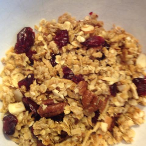Alton brown 39 s granola for Alton brown oat cuisine