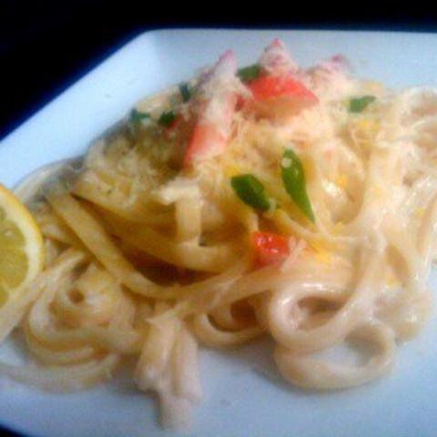 Ambie's Shrimp & Artichoke Alfredo