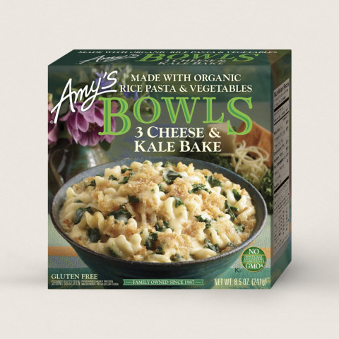 Amy's 3 Cheese and Kale Bake Bowl