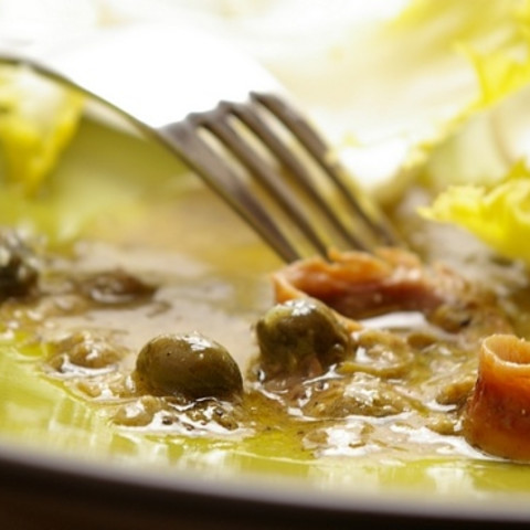 Anchovy and Caper Salad Dressing
