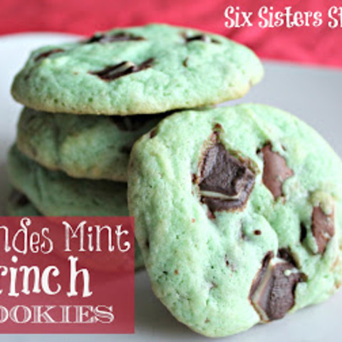 Andes Mint Grinch Cookies