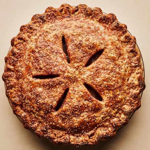 Apple-Cheddar Pie