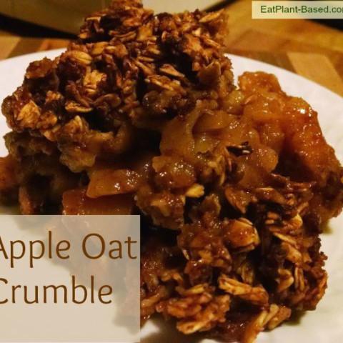 Apple Oat Crumble