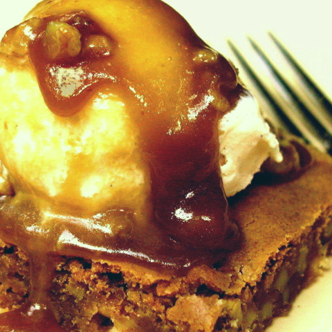 Applebee's White Chocolate Walnut Blondie