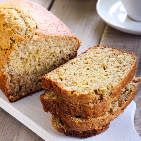 Food Applesauce Banana Bread Recipe