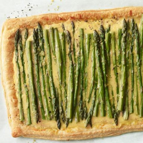 Asparagus and Cheese Tart