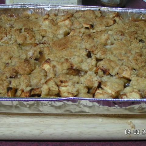 Aunt Charlotte's Apple Crisp
