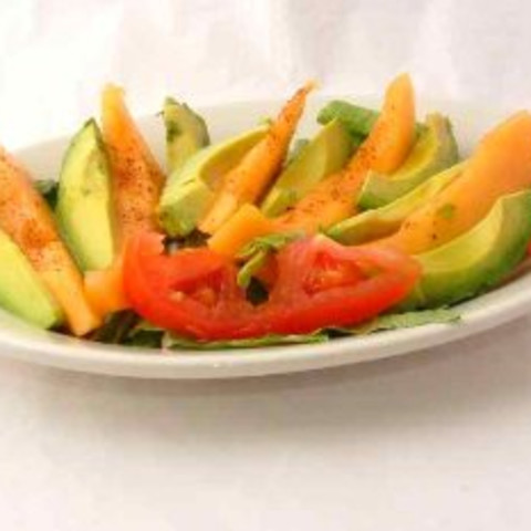 Avocado and Cantaloupe Salad
