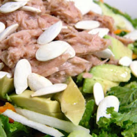 Avocado and Lime Tuna Salad