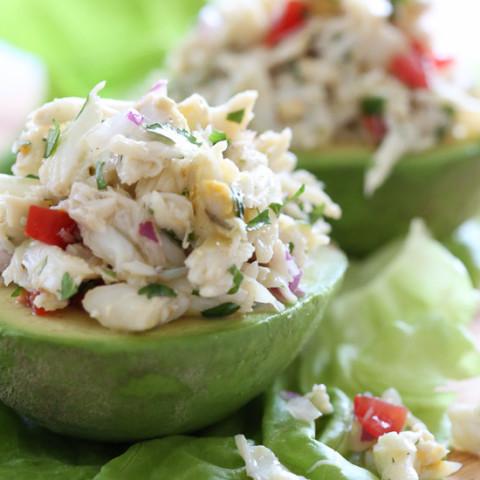 Avocado and Lump Crab Salad