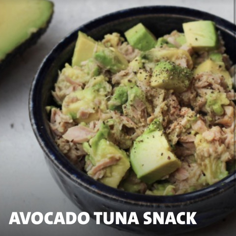 Avocado Tuna Snack