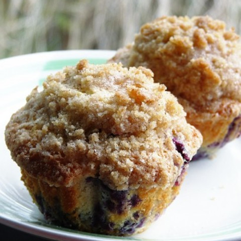 Awesome Blueberry Muffins