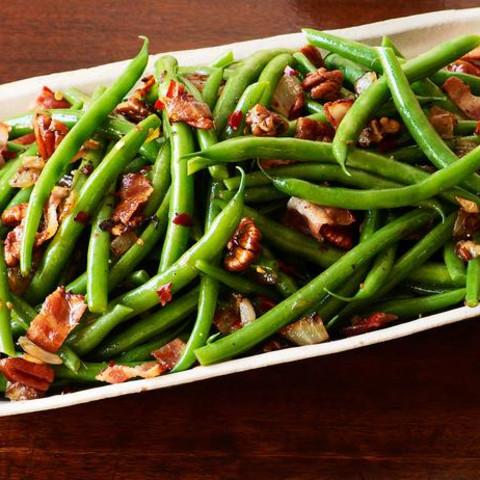 Bacon & Green Beans
