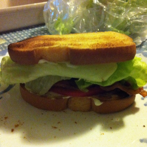Bacon, Lettuce and Tomato Sammies