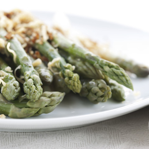 Baked Asparagus with Parmesan Cheese