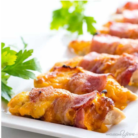 Baked Bacon Wrapped Chicken Tenders Recipe - 3 Ingredients