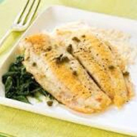 Baked flounder with parmesan crust for Sole fish nutrition