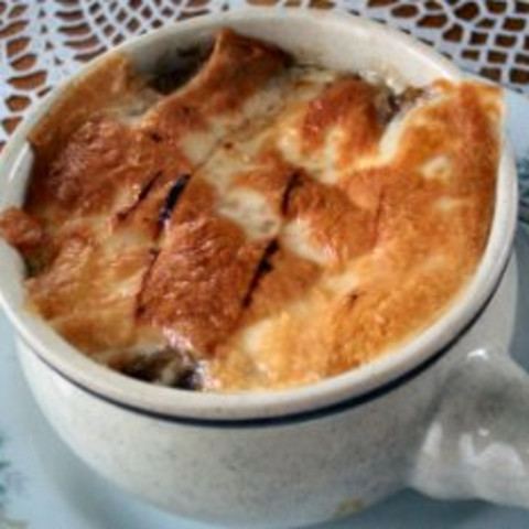 Baked Onion Soup