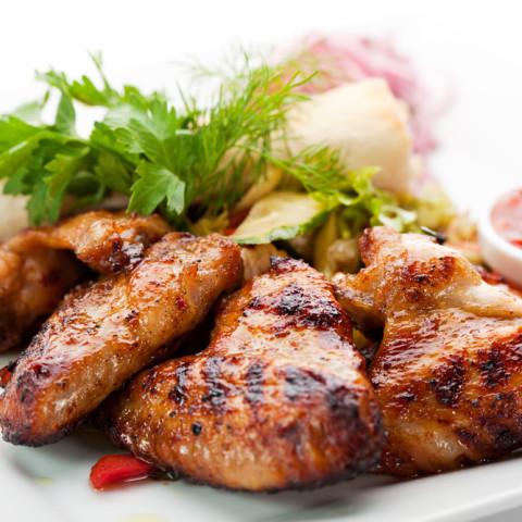 Balsamic Soy-glazed Chicken Wings