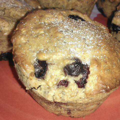 Banana-Blueberry Muffins